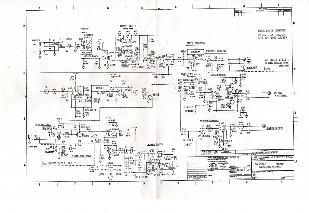 POLYTONE-回路図
